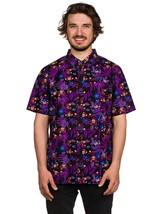 Vans Off The Wall Men's Nintendo Donkey Kong Buttondown Shirt - $84.95