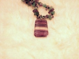 Cookie Lee Fluorite & Amethyst Necklace - Item #82128 - New, Wow! image 3