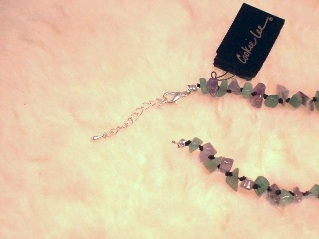 Cookie Lee Fluorite & Amethyst Necklace - Item #82128 - New, Wow! image 5