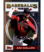 Zac Gallen 2020 Topps Baseball's Finest Rookie Card #53 - $3.00