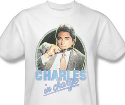 Charles In Charge T-shirt Free Shipping retro 80s TV cotton white tee NBC205 image 1