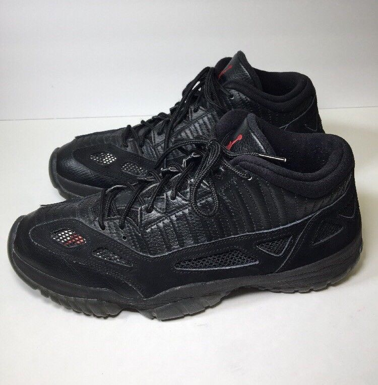 b3d63766cc1 Nike Air Jordan XI 11 Low IE Retro Black Red and 50 similar items. S l1600