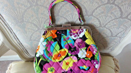 Vera Bradley Mini Frame Crossbody Va Va Boom BAG/HANDBAG - $30.00