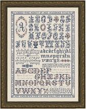 Namesake Sampler MBT013 religious proverbs cross stitch chart My Big Toe Designs - $30.00