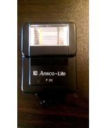 Ansco-Lite F 20 Flash Unit - Untested - $6.50