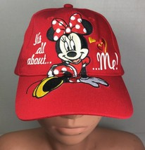 Minnie Mouse Disney Girl's Red Baseball Cap - $12.60