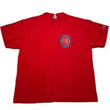 Vintage 90s Champion Detroit Pistons Single Stitch Retro Logo T Shirt Si... - £25.14 GBP