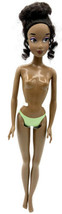 """Disney Store Tiana Barbie Doll The Princess And The Frog 12"""" Nude snap b... - $9.89"""