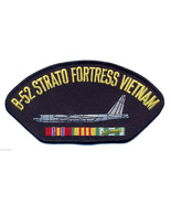"B-52 STRATOFORTRESS VIETNAM VETERAN  EMBROIDERED SERVICE RIBBON 6"" PATCH - $17.14"