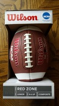 Wilson Red Zone Series Official Junior Composite Football in Box NEW - $24.49
