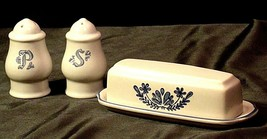 Pfaltzgraff Salt, Pepper and Butter Container 028 AA20-2131 Vintage image 1