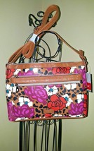 Relic Evie Crossbody Bag Rose Leopard NWT $54 - $34.64
