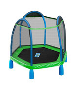 7ft My First Trampoline Kids Indoor Outdoor Bounce Pro 7' Round Age 3 - 10 - $319.00
