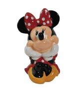 Walt Disney's Minnie Mouse Sitting Figure Ceramic Coin Bank/Money Box NEW UNUSED - £24.61 GBP
