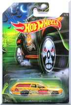 Hot Wheels - '71 Plymouth Satellite: Happy Halloween! #3/8 (2017) *Gold Edition* - $4.00