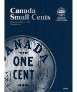 Canada Small Cents No. 1, 1920-1988, Whitman Coin Folder - $8.49