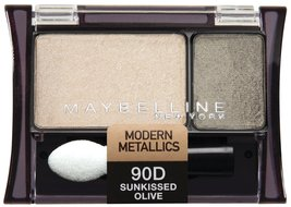 Maybelline New York Expert Wear Eyeshadow Duos, Sunkissed Olive 90d, 0.0... - $8.99