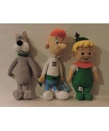 """17"""" George Jetson , 14"""" Elroy and 16"""" Astro plush figures - $14.85"""