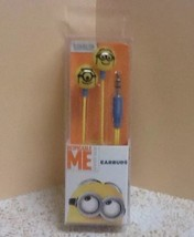 New Despicable Me Minions Earbud Stereo Headphones + S M L Earbud Cushions - $15.28
