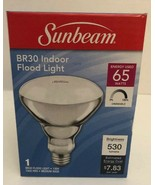 Sunbeam Flood Light Bulbs Dimmable BR30 Indoor 65W Replacement Warm 2700... - $6.81