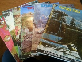 "Lot of 6 The Vintage Ford Magazines 1970 Model ""T"" Club complete year - $32.19"
