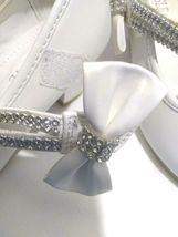AISLE STYLE Girls Low Mid Heel Party Wedding Mary Jane Style Shoes Size 28 UK image 11