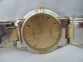 Geneva Analog Wristwatch with Water Resistance and Quartz Movement - $29.00