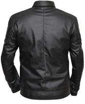 Agents Of Shield Ghost Rider (Robbie Reyes) Black Biker Leather Jacket image 2