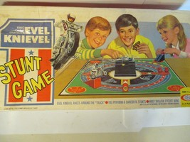 Evel Knievel Stunt Game Vintage Ideal (non working) - $69.30