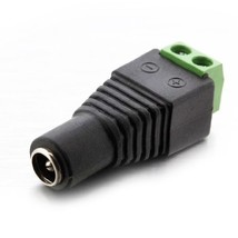 DC Power Female Plug Jack Adapter Connector Socket Plug for LED Strip Light - $3.29