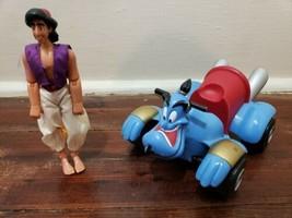 Disney Store Hero Adventurers Aladdin Action  Figure and Genie Cycle - $19.34