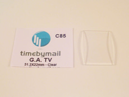 New for Armani TV AR 0143 clear watch replacement Glass Crystal C85 - $24.52