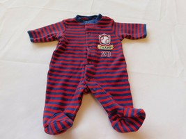 """Child of Mine Carter's Girl's Boy's Size P Preemie """"Champ"""" Footed Bodysuit  - $19.79"""