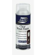 Deft SEMI-GLOSS Clear WOOD FINISH 12.25oz Lacquer Spray FinishRestore DF... - $22.99