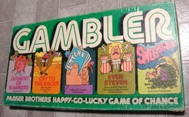 Gambler Vintage 1977 PB  Happy Go Lucky Game of Chance Board Game- Complete - £17.45 GBP