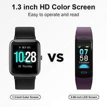Smart Watch, Anbes Fitness Tracker with Heart Rate Sleep Monitor Step Calorie Co image 3
