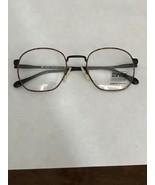 VTG New BerDel Sferoflex Memphis Eyeglass Frames 49-20-135 Italy Brown Camo - $40.00