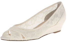 Nina Women's Rigby YM Dress Pump, Ivory, 6.5 M US 36.5 Eur - $39.59
