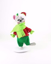 Christmas Décor 2011 Annalee Dolls 6 Inch Catch a Snowflake Mouse Figure... - $17.82
