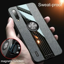 Phone Back Cover For Xiaomi Mi CC9 SE 8 Case Car Magnetic Ring Soft Leather Case - $4.69
