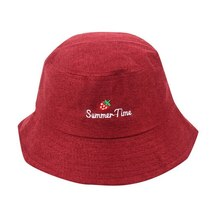 feitong New Fashion Women Floppy Cotton Sun Hat With Bow Wide Large Brim Cap Sum image 6