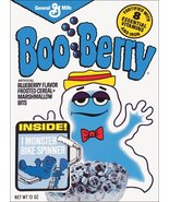 Boo Berry Monster Cereal Box Reproduction Stand-Up Display - General Mil... - $15.99