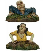 Dept 56 Snow Village Halloween Zombies RISING FROM THE DEAD 4057626 New  - $32.99