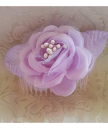 Hair Accessory Prom Wedding Party Flower Comb  - $10.00
