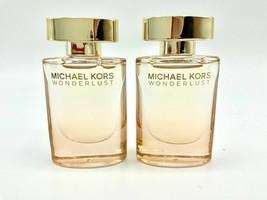 2 x MICHAEL KO RS wonderlust EDP eau de parfum mini splash 0.24 oz 7ml Each NEW - $25.00