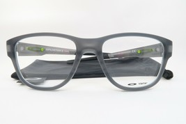 New Authentic Oakley OX8094-0553 Satin Grey Smoke Eyeglasses 53/18/137 Cloth Bag - $78.21