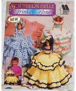 Southern Belle Crochet Fashion Doll Trinket Boxes - $9.25