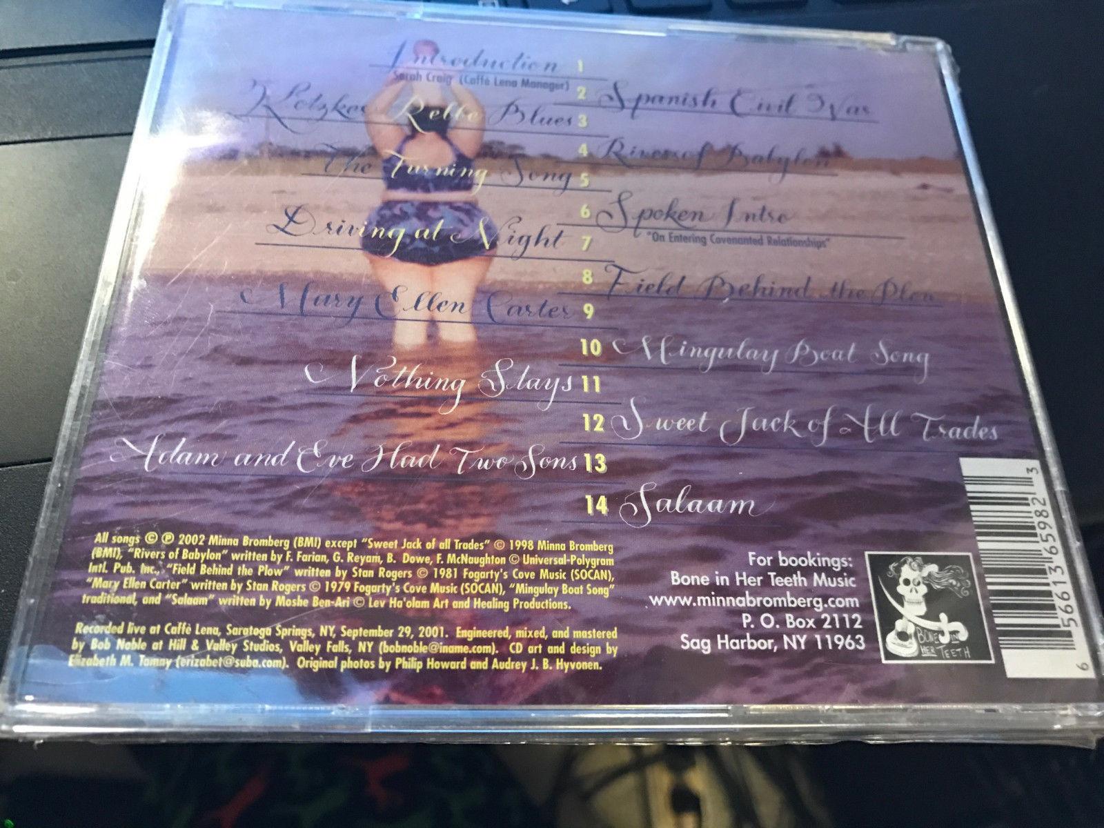 "Minna Bromberg ""Live at Lena's"" cd SEALED"