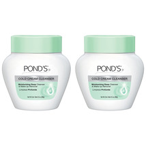 Pond Cold cream The cool classic deep cleans & removes make-up 9.5 oz (2... - $21.78
