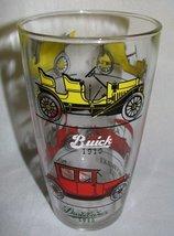 Vintage Hazel Atlas Glass Cocktail Shaker Antique Cars - $6.99
